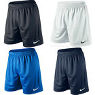 NIKE PARK SHORTS - BLACK ROYAL NAVY WHITE - DRI FIT FOOTBALL GYM RUNNING MENS