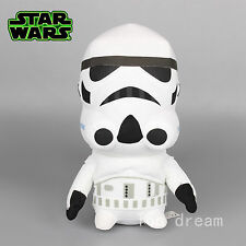 New Star Wars White Storm Troop Plush Toy Soft Stuffed Doll 35CM Teddy Kids Gift
