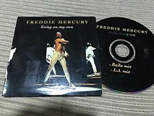 FREDDIE MERCURY QUEEN LIVING ON MY OWN CD SINGLE 2 TRACK HOLLAND 93 CARD SLEEVE
