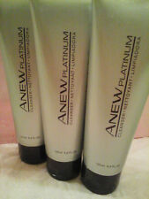 AVON ANEW Anew Platinum Cleanser - THREE CLEANSERS!!! Sealed!
