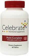 Celebrate Multi-Complete w/ Iron Chewable Forest Berry