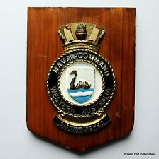 Naval Command, Western Australia - Australian Navy Military ANZAC Badge Plaque