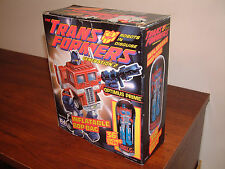 TRANSFORMERS G2 OPTIMUS PRIME BOP BAG; 1993 Kid Dimension; Generation 2