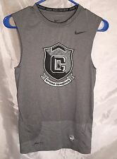 Nike Football Mens Sparq Combines shirt (Small) Compression Tank Pro Combat