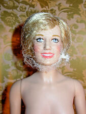 Princess Diana Franklin Mint Nude Vinyl Doll Only Very Light Arm Marks