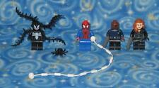 Lego Marvel Super Heroes Lot of 4 Minifigures with Spider-Man and Venom