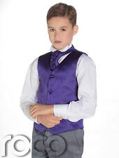 Boys Waistcoat Suit, Boys Wedding Suits, Page Boy Suits, Grey Trousers