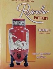 ROSEVILLE VASE POTTERY ENCYCLOPEDIA VALUE GUIDE COLLECTOR BOOK