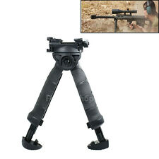 Tactical Swivel Hunting Foldable Bipod Foregrip 20mm Picatinny Rail For Rifle