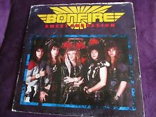 """Bonfire - Sweet Obsession 12"""" vinyl with poster"""