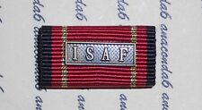 Bundeswehr Abzeichen Bandspange Ordensspange Bw Einsatzmedaille ISAF ##F1623