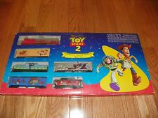 IHC Disney Pixar TOY STORY 2  Woody & Buzz TRAIN SET HO SCALE 1999 New in box