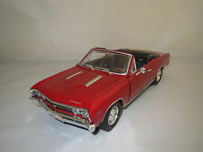 Ertl  Chevrolet  Chevelle  SS  396  Super  Sport  (rot) 1:18 ohne Verpackung !