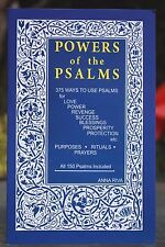 POWERS OF THE PSALMS BRAND NEW BY ANNA RIVA ENGLISH (1982, Paperback)