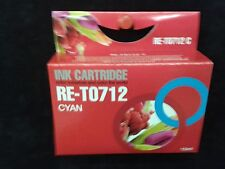 Compatible T712 Cyan blue printer ink cartridge for  DX6000,DX6050,DX7450,DX8450