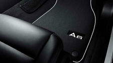 Original Audi A6 4G Stoffmatten Textilfußmatten vorne + hinten 4G1061270 MNO
