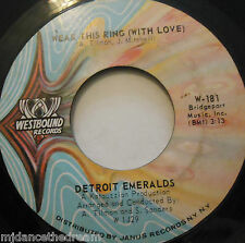 """DETROIT EMERALDS - I Bet You Get The One ~ 7"""" Single US PRESS"""