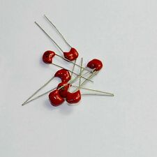 10pcs Silver MICA Capacitor 47pF 500V for audio amp New