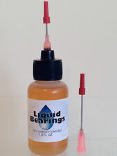Liquid Bearings BEST 100%-synthetic oil for direct drive turntables, PLEASE READ