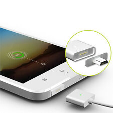 Android Micro USB Magnetic Adapter Charger Cable Metal Plug For Samsung HTC