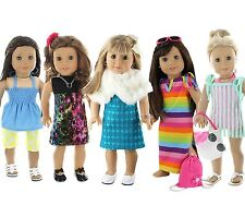 28 Piece Holiday Lot Fits 18 Inch American Girl Doll Clothes