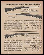 1972 REMINGTON Model 788 Right & Left Hand,700 BDL Varmint Special Rifle AD
