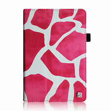 Folio Leather Case Stand Cover for 2013 Kindle Fire HD 7-Inch 3rd Gen Sleep/Wake