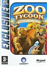 Zoo Tycoon: Complete Collection (Computer PC DVD-ROM XP Vista 3 Games in 1) NEW