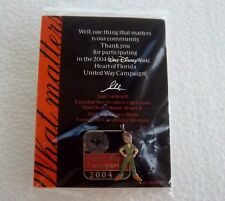 *~*DISNEY WDW UNITED WAY 2004 PETER PAN LE PIN NEW ON CARD IN PKG.*~*