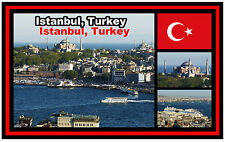 ISTANBUL,TURKEY - SOUVENIR NOVELTY FRIDGE MAGNET - BRAND NEW - GIFT