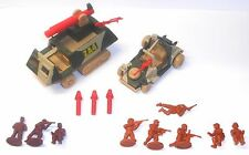1980's Bluebird Toys - Zero Hour ~ ZA3 ZA4 THUNDERFLASH ~ Halftrack & ATV - 6277