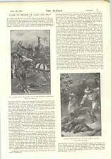 1896 Clash Of Swords Open-air Books Foxes Angling