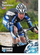 CYCLISME carte cycliste TOM DANIELSON  équipe  DISCOVERY CHANNEL