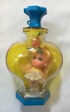 Vintage Liddle Kiddle Perfume Bottle Honeysuckle Kologne Cologne Little Stand