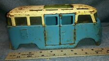 Vintage  Buddy L  VW Volkswagen Metal Van Bus W/ Side Doors  Parts Body