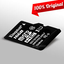 New Kingston Memory Card 16GB Micro SDHC Secure SD TF Flash Class 10 High Speed