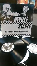 NEVILLE STAPLE - RETURN OF JUDGE ROUGHNECK 2 LP SET SKA 2 TONE DUB (SPECIALS)