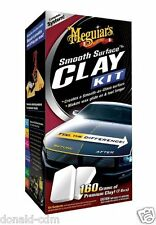 Meguiar's KIT SMOOTH SURFACE CLAY KIT, G-1010,kit ricondizionamento carrozzeria