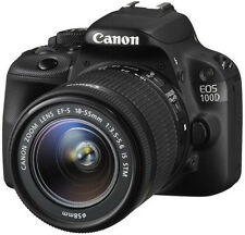 Canon EOS 100D 18.1 Megapixels Digital Camera - Black (Kit w/ EF-S 18-55mm Lens)