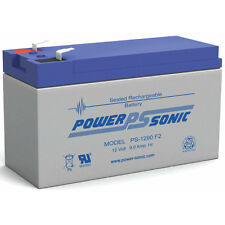 Power-Sonic 12V 9AH 12 volt Sealed BATTERY Fits Aqua Vu Marcum Vexilar - UB1290