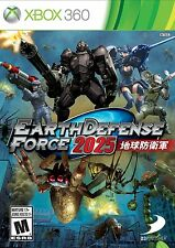 Earth Defense Force 2025 Xbox 360, New, Free Shipping