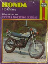 HAYNES WORKSHOP MANUAL for HONDA CR250 & MT250 ELSINORE, 1973 to 1975