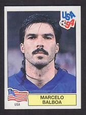 Panini - USA 94 World Cup - # 17 Marcelo Balboa - USA (Green Back)
