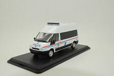 Ford Transit Luxembourg Police Custom Made 1/43