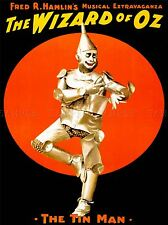 VINTAGE ADVERT WIZARD OF OZ TIN MAN ART POSTER PRINT LV4646