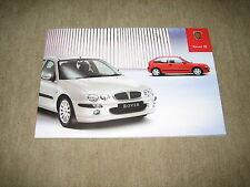 Rover 25 folleto brochure de 3/2003, 44 páginas
