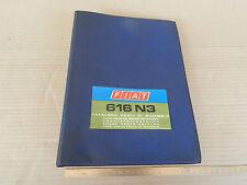 CATALOGO PARTI DI RICAMBIO ORIGINALE CAMION FIAT 616 N3 ANNO DI STAMPA 1971