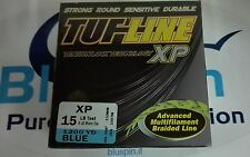 NEW TUFLINE XP ADVANCED BRAIDED LINE 15LB 1200YDS MADE IN USA COL. BLUE