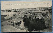 CPA: En Champagne - le BOIS SABOT et les tranchées d'acces / Guerre 14-18