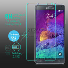100% Genuine Tempered Glass Film Screen Protector for NOTE 4